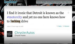 Franchise social media - don't let the Chrysler social media blunder happen to you