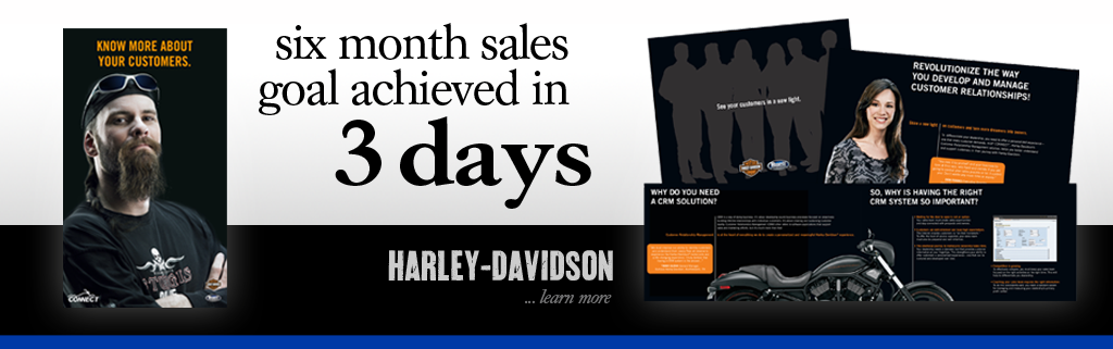 With Third Person Dealer to Dealer Marketing, Harley-Davidson Met a 6-month Sales Goal in Just 3 Days